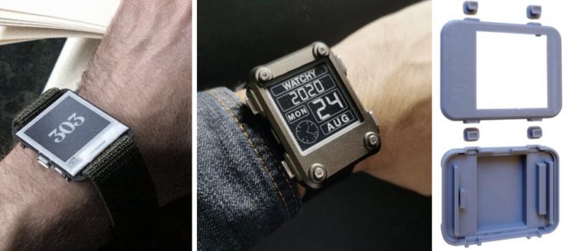 这块DIY墨水屏手表火了!外观可盐可甜,无线蓝牙计步闹钟一应俱全 | 开源qw3.jpg