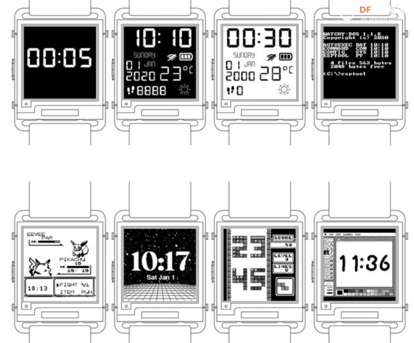 这块DIY墨水屏手表火了!外观可盐可甜,无线蓝牙计步闹钟一应俱全 | 开源qw6.jpg